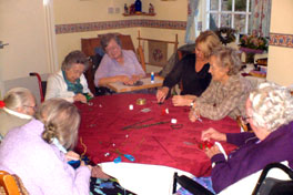Activities at Pinewood residential and nursing home