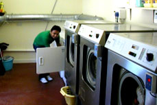 Laundry services at  Pinewood residential home