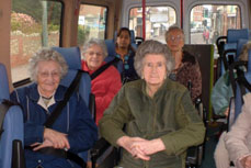 Every week Pinewood organises minibus outings for our residents to explore the conservation area of Budleigh Salterton.