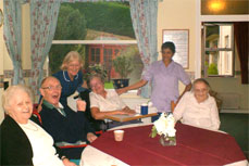 Pinewood residential and nursing home - residents and care staff